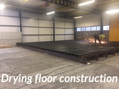 Drying-floor-construction-